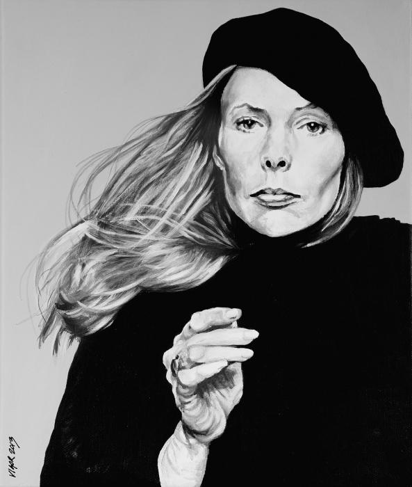 Joni Mitchell by DavidVigor